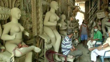Kumartuli: প্রতিমার বায়না নেই, ব্যবসা বন্ধে স্তব্ধ কুমোরটুলিতে বড়সড় ক্ষতির মুখে প্রতিমা শিল্পীরা