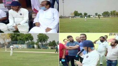 Manoj Tiwari Violates Lockdown Rules: লকডাউনের নিয়ম উপেক্ষা করে ক্রিকেট ম্যাচ খেলতে হাজির দিল্লির বিজেপি নেতা মনোজ তিওয়ারি, গাইলেন 'রিঙ্কিয়াকে পাপা'
