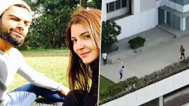 Virat Kohli Play Gully Cricket On Rooftop: লকডাউনে ঘরবন্দী, আবাসনের ছাদে স্ত্রী অনুষ্কার সঙ্গে ক্রিকেট খেলছেন বিরাট কোহলি!