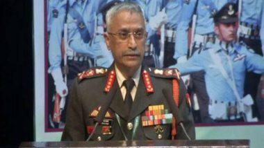 Army Chief Gen MM Naravane: করোনা বিপর্যয়ের মধ্যে  জম্মু কাশ্মীরে জঙ্গি হামলা করিয়ে উদ্দেশ্যপূরণে ব্যস্ত পাকিস্তান, বললনে সেনাপ্রধান এমএম নারাভানে