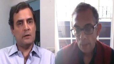 Abhijit Banerjee: 'এই অর্থনৈতিক সংকটে আগে মানুষের হাতে টাকা দিতে হবে', রাহুল গান্ধীকে বললেন নোবেলজয়ী অভিজিৎ ব্যানার্জি