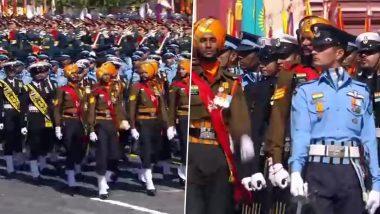 Victory Parade in Moscow: রাশিয়ার ভিকট্রি ডে প্যারেডে অংশ নিল ভারতীয় সেনার তিন বাহিনী: ভিডিয়ো