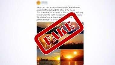 Fake News: এক আকাশে দুটি সূর্য? সূর্যগ্রহণের দিন ঘটল এমন ঘটনা? জানুন আসল সত্যি