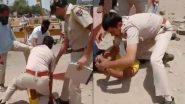 Jodhpur Police: মাস্ক না পরে পুলিশকেই চোখ উপড়ে নেওয়ার হুমকি, অভিযুক্তের গলায় হাঁটু চেপে দিলেন কনস্টেবল(দেখুন ভিডিও)