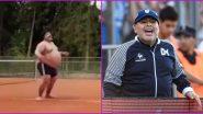 Diego Maradona: বিরাট ভুঁড়ি নিয়ে টেনিস বল দিয়ে প্র্যাকটিসে মগ্ন, তবে ভাইরাল হওয়া ভিডিয়ো দিয়েগো ম্যারাডোনার নয়