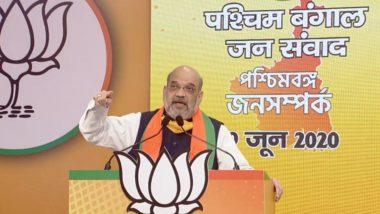 Amit Shah Virtual Rally: 'পশ্চিমবঙ্গ জন-সংবাদ' ভার্চুয়াল র্যালিজুড়ে মমতা ব্যানার্জিকে তীব্র আক্রমণ অমিত শাহের, মুখ্যমন্ত্রীর প্রস্থানের রাস্তাও পাকা, বলে দাবি করলেন স্বরাষ্ট্রমন্ত্রী