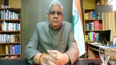 Jagdeep Dhankhar: ৪ দিনের সফরে রাজধানীতে যাচ্ছেন জগদীপ ধনখড়