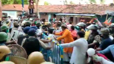 BJP-TMC Clash At Jagatdal: বিজেপির মিছিল ঘিরে রণক্ষেত্র জগদ্দল, ব্যাপক বোমাবাজি