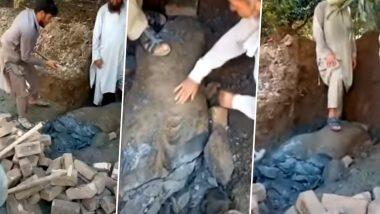 Buddha Statue Vandalised in Pakistan: পাকিস্তানে প্রাচীণ বুদ্ধ মূর্তি ধ্বংস, জোর সমালোচনার মুখে ইমরান খান সরকার