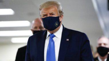 Donald Trump Wears Mask: প্রথমবার মুখে মাস্ক পরে জনসমক্ষে দেখা গেল মার্কিন প্রেসিডেন্ট ডোনাল্ড ট্রাম্পকে