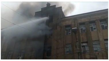 Fire At Canning Street: ক্যানিং স্ট্রিটে প্লাস্টিকের গুদামে আগুন