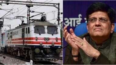 Indian Railways: সাড়ে তিন বছরে ভারতীয় রেলে ১০০ শতাংশ বৈদ্যুতীকরণ হয়ে যাবে, জানালেন রেলমন্ত্রী পীযূষ গোয়েল