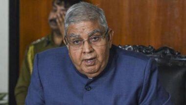 Governor Jagdeep Dhankhar: 'রাজ্যের আইনশৃঙ্খলা পরিস্থিতি ভেঙে পড়েছে, নৈরাজ্য চলছে', মমতা বন্দোপাধ্যায়কে তোপ রাজ্যপালের