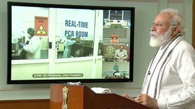 PM Narendra Modi: করোনা মোকাবিলায় আরও একধাপ এগিয়ে ভারত, কলকাতা, নয়ডা এবং মুম্বইয়ে উদ্বোধন 'হাই থ্রুপুট' পরীক্ষাগারের