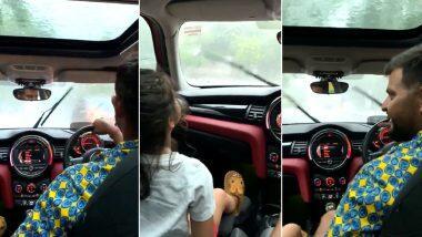 Suresh Raina Takes Daughter Gracia on Drive: দিল্লিতে তুমুল বৃষ্টি, তার মধ্যে মেয়েকে নিয়ে ড্রাইভে সুরেশ রায়না; দেখুন ভিডিয়ো
