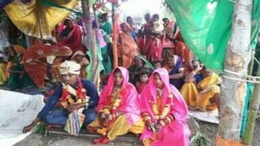 Madhya Pradesh Man Marries Two Women: একই মণ্ডপে এক সঙ্গে দুই কনেকে বিয়ে করলেন যুবক!