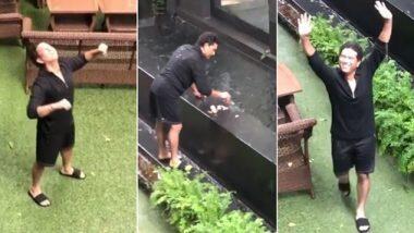 Sachin Tendulkar Enjoys Mumbai Rains: প্রাণ ভরে বৃষ্টিতে ভিজছেন সচিন, ক্যামেরাবন্দী করল মেয়ে সারা