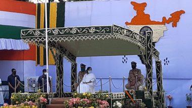Independence Day Celebration in West Bengal: স্বাধীনতা দিবসে রেড রোডে পতাকা উত্তোলন করলেন মুখ্যমন্ত্রী মমতা ব্যানার্জি, বিনামূল্যে ৫ লাখ মাস্ক বিলি
