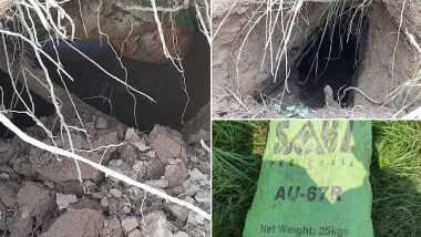 BSF Detects Tunnel in Samba: জম্মু ও কাশ্মীরের সাম্বায় সুড়ঙ্গের খোঁজ পেল BSF, পাকিস্তানে তৈরি বস্তা দিয়ে ঢাকা ছিল মুখ