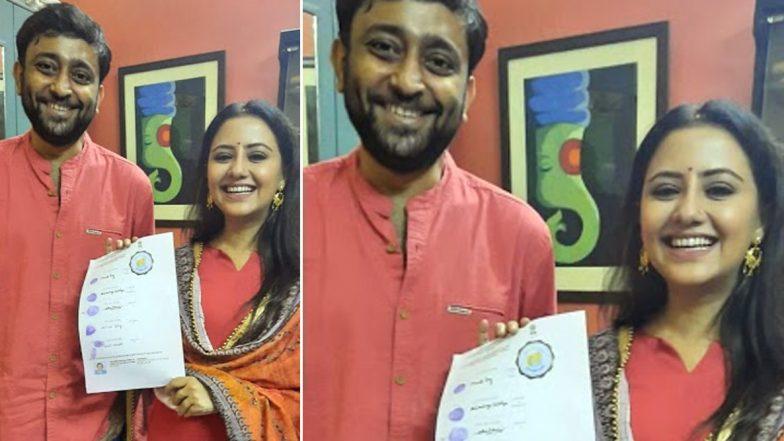 Manali Dey & Abhimanyu Mukherjee Got Married: বিয়ে সেরে ফেললেন মানালি দে ও অভিমন্যু মুখার্জি, সোশ্যাল মিডিয়ায় ছবি পোস্ট করতেই শুভেচ্ছার বন্যা