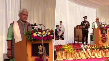 Jammu and Kashmir: জম্মু ও কাশ্মীরের নতুন লেফটেন্যান্ট গভর্নর পদে শপথ মনোজ সিনহার