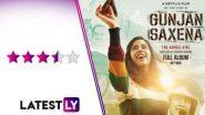 Gunjan Saxena - The Kargil Girl Movie Review: বায়ুসেনায় ভারতের প্রথম মহিলা পাইলটের বায়োপিকে জাহ্নবী, দেখে নিন মুভি রিভিউ