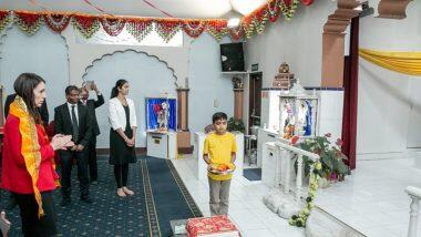 Jacinda Ardern Visits Radha Krishna Temple: রাধা-কৃষ্ণ মন্দিরে প্রার্থনা নিউজিল্যান্ডের প্রধানমন্ত্রী জেসিন্ডা আর্ডের্নের, দেখুন ভিডিয়ো