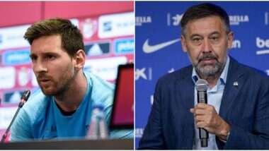 Lionel Messi to Leave Barcelona: মেসি বার্সেলোনাতে থাকলেই পদত্যাগ করবেন ক্লাব প্রেসিডেন্ট বার্তোমেউ
