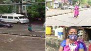 Mumbai: দুর্ঘটনা এড়াতে খোলা ম্যানহোলের সামনে ৭ ঘণ্টা দাঁড়িয়ে রইলেন মহিলা