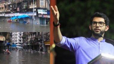 Mumbai Rains: প্রবল বৃষ্টি এবং ঝোড়ো হাওয়াতে বিপর্যস্ত মুম্বই, 'বাড়িতে থাকুন!', বার্তা আদিত্য ঠাকরের