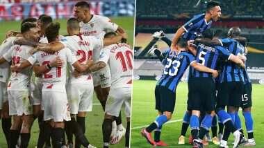 Sevilla vs Inter Milan, UEFA Europa League 2019–20 Final Live Streaming Online: ইউরোপা লিগের ফাইনালে মুখোমুখি সেভিয়া ও ইন্টার মিলান; জানুন কোথায়, কখন দেখবেন ম্যাচ