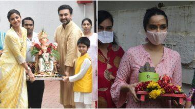 Ganesh Chaturthi 2020: উৎসব শেষে গণেশ বিসর্জনে মাতলেন বলিউড অভিনেত্রী শিল্পা শেট্টি কুন্দ্রা, শ্রদ্ধা কাপুর (দেখুন ভিডিও)