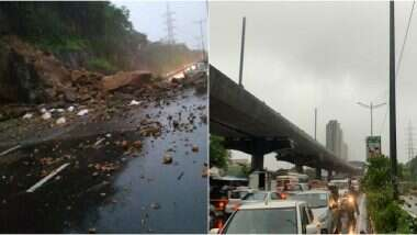Mumbai Rains: প্রবল বৃষ্টিতে বিপর্যস্ত মুম্বই, বন্ধ ট্রেন চলাচল, বাস পরিষেবা, অফিস; হাইওয়েতে ধস (দেখুন ভিডিও)