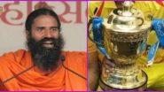 IPL 2020 Sponsor: আইপিএল ২০২০-র টাইটেল স্পনসরে আগ্রহী পতঞ্জলি