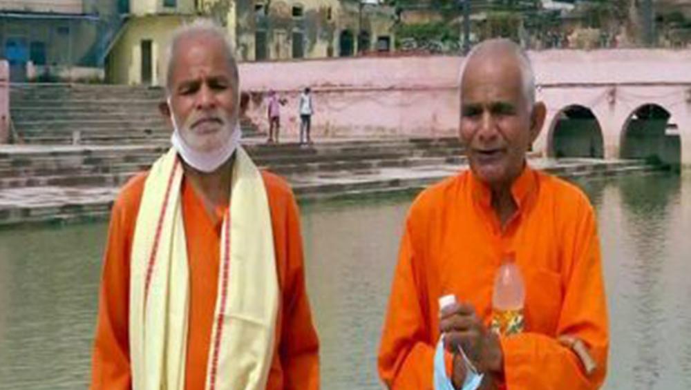 Ram Temple 'Bhumi Pujan' Ceremony: উপলক্ষ রাম মন্দিরের ভূমি পুজো,  অযোধ্যাকে ১৫১টি নদী ও ৩ সমুদ্রের জল উপহার ২ ভাইয়ের