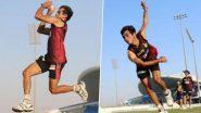 RR vs KKR, IPL 2020: অনুশীলনে বল হাতে দুরন্ত কমলেশ নাগরকোটি, ভিডিয়ো শেয়ার নাটট শিবিরের