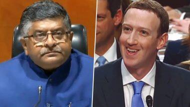 Facebook Row: 'প্রধানমন্ত্রীকে নিয়ে আপত্তিকর কথা বলে ফেসবুক কর্মচারীরা',অভিযোগ এনে মার্ক জুকারবার্গকে চিঠি কেন্দ্রীয় মন্ত্রী রবিশঙ্কর প্রসাদের