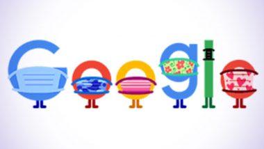 Google Doodle: 'মাস্ক পরুন-জীবন বাঁচান', বিশেষ ডুডল গুগলের