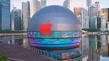 Apple Store In Singapore: বিশ্বের প্রথম ভাসমান অ্যাপল স্টোর তৈরি হল সিঙ্গাপুরে
