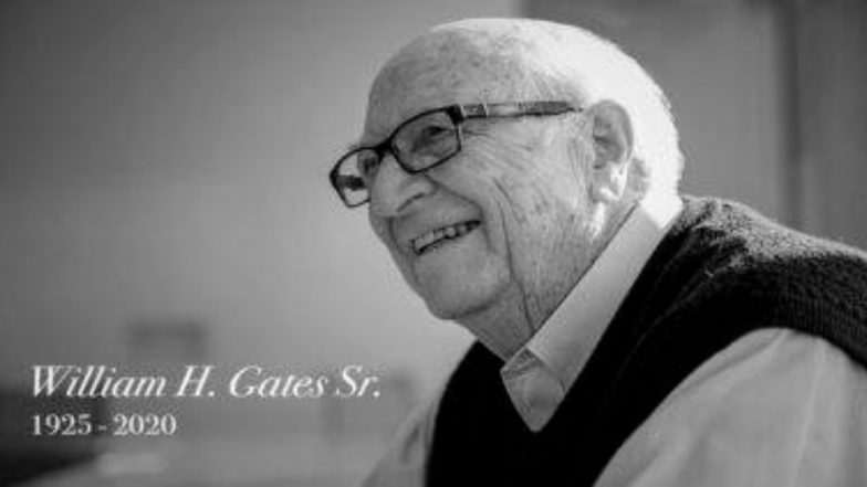 Bill Gates Sr Dies: ৯৪ বছরে প্রয়াত সিনিয়র বিল গেটস, বাবার শোকে মুহ্যমান মাইক্রোসফট কো-ফাউন্ডার
