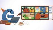 Google's 22nd Birthday Doodle: নিজের ২২তম জন্মদিনে বিশেষ অ্যানিমেটেড ডুডল প্রকাশ গুগুলের