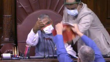 Farm Bills Chaos: সংসদের ডেপুটি চেয়ারম্যান হরিবংশ সিংয়ের বিরুদ্ধে অনাস্থাপ্রস্তাব আনল বিরোধী দলের সাংসদরা