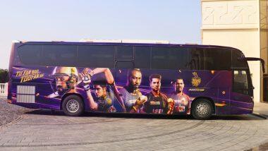 KKR Unveils New Team Bus: টিম বাসের ছবি প্রকাশ কলকাতা নাইট রাইডার্সের, দেখে নিন ছবি