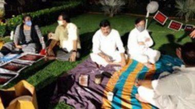 MPs' Overnight Protest: পার্লামেন্টের লনে ৮ সাংসদের জন্য এল গরমাগরম ইডলি, চা, খোলা আকাশরে নিচে কেমন কাটল ডেরেক ও'ব্রায়েনের রাত?