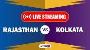 IPL 2020, RR vs KKR Live Streaming: কোথায় ও কখন দেখা যাবে কলকাতা নাইট রাইডার্স বনাম রাজস্থান রয়্যালস ম্যাচের সরাসরি সম্প্রচার?