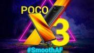Poco X3 Smartphone Launched: ১৬,৯৯৯ টাকায় ৬ হাজার মেগাহার্ৎজ ব্যাটারি, দেখে নিন পোকো-র নতুন স্মার্টফোনের অত্যাধুনিক ফিচার