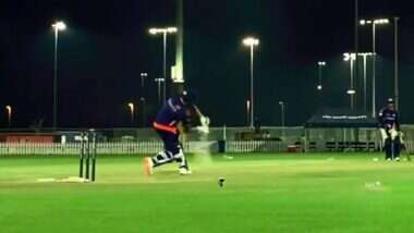 IPL 2020 Players' Update: অনুশলীনে বিশাল ছক্কা রোহিত শর্মার, পড়ল বাসের ছাদে; দেখুন ভিডিয়ো