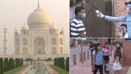 Taj Mahal Reopens: করোনার কাঁটায় ৬ মাস বন্ধ থাকার পর সোমবার পর্যটকদের জন্য খুলল তাজমহলের দরজা