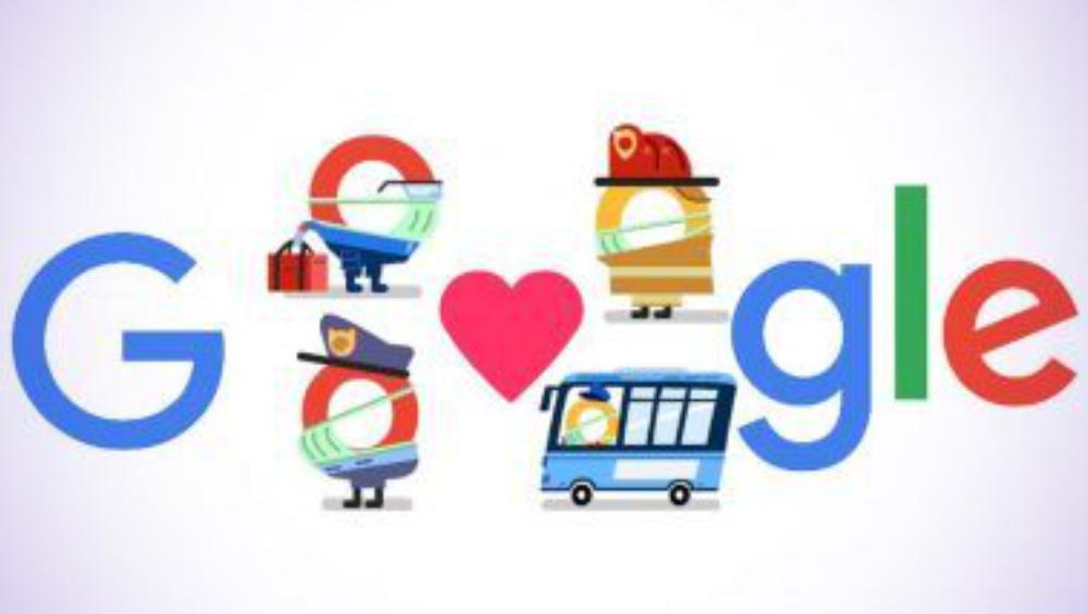 Google Doodle: মহামারীতে ডুডলের মাধ্যমে সমস্ত করোনা যোদ্ধাদের ধন্যবাদ সার্চ ইঞ্জিন গুগলের