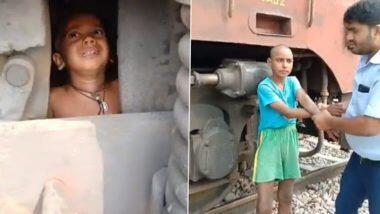 2-Year-Old Child Stuck Under the Engine of Goods Train: মালগাড়ির ইঞ্জিনের নীচে আটকে ২ বছরের শিশু, দেখুন চমকে ওঠার মতো ভিডিয়ো